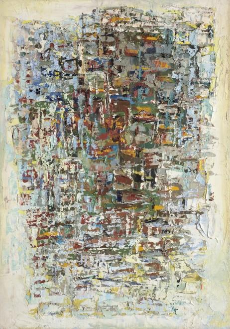 """<span class=""""artist""""><strong>Paul Feiler</strong></span>, <span class=""""title""""><em>Spring Landscape</em>, 1957</span>"""