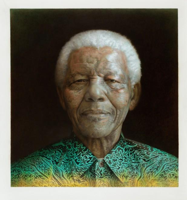 <span class=&#34;artist&#34;><strong>Paul Emsley</strong></span>, <span class=&#34;title&#34;><em>Nelson Mandela</em>, 2015</span>