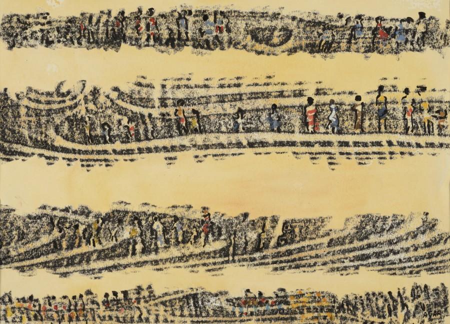 "<span class=""artist""><strong>Eileen Agar RA</strong></span>, <span class=""title""><em>Textile Design</em></span>"