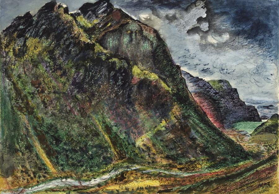 """<span class=""""artist""""><strong>Eileen Agar RA</strong></span>, <span class=""""title""""><em>Cumberland</em>, 1944</span>"""