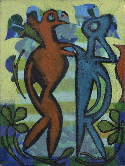 "<span class=""artist""><strong>Eileen Agar RA</strong></span>, <span class=""title""><em>Silvanus</em>, 1966</span>"