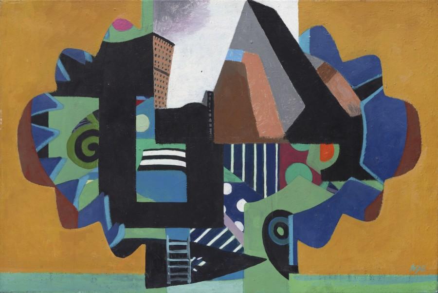 <span class=&#34;artist&#34;><strong>Eileen Agar RA</strong></span>, <span class=&#34;title&#34;><em>Cityscape</em>, 1983</span>