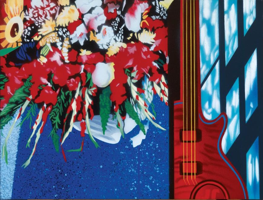 """<span class=""""artist""""><strong>Brendan Neiland</strong></span>, <span class=""""title""""><em>Bouquet</em>, 2017</span>"""