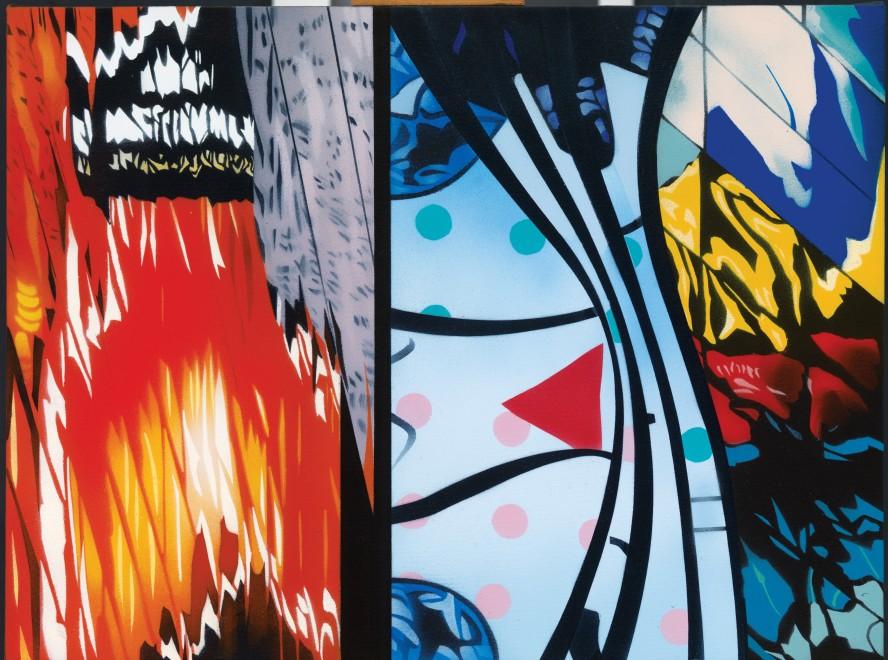 """<span class=""""artist""""><strong>Brendan Neiland</strong></span>, <span class=""""title""""><em>Kaleidoscope</em>, 2015</span>"""