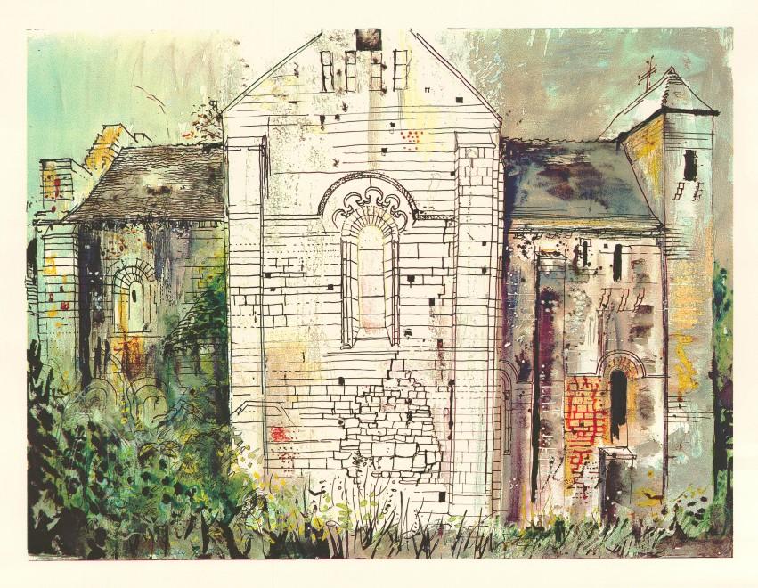 St. Amand-de-Coly, Dordogne