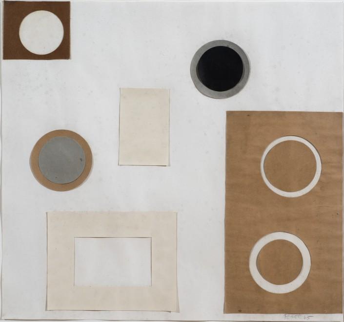 Circles, Brown and Grey