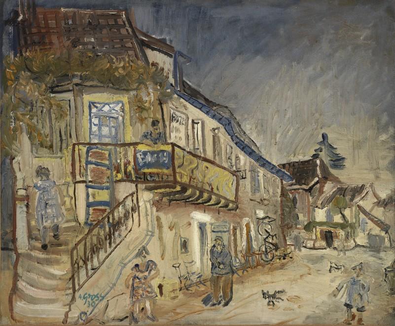 Street Scene, Bach