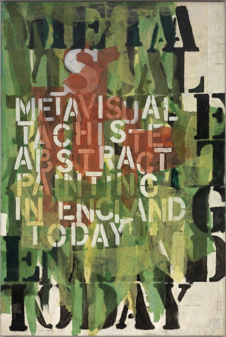 Metavisual Tachiste Abstract - Painting in England Today