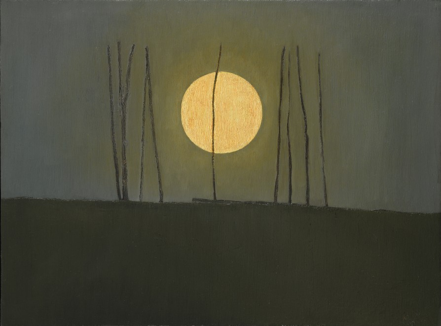 Full Moon with Sticks