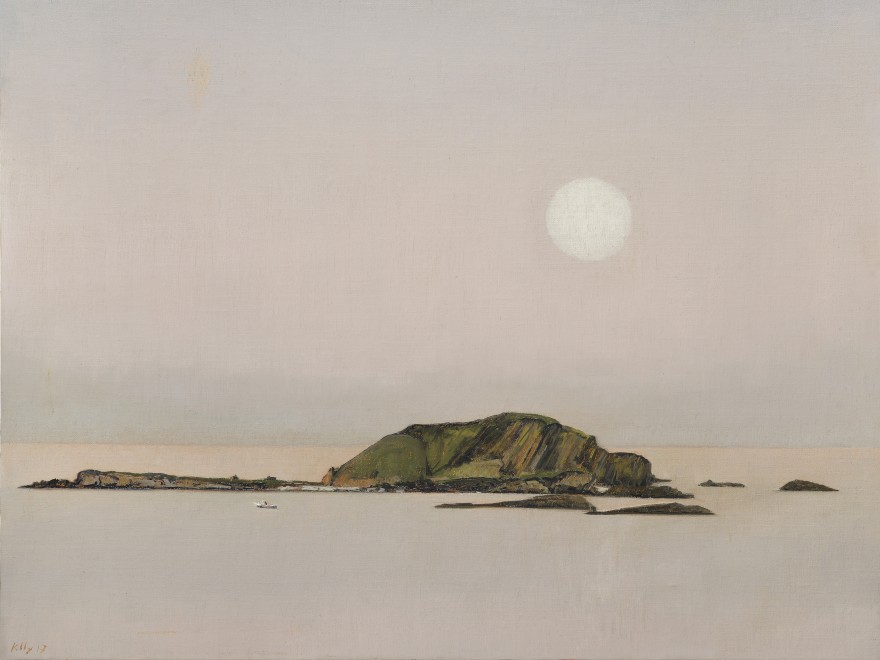 Sunset, Moonrise, High and Low Islands