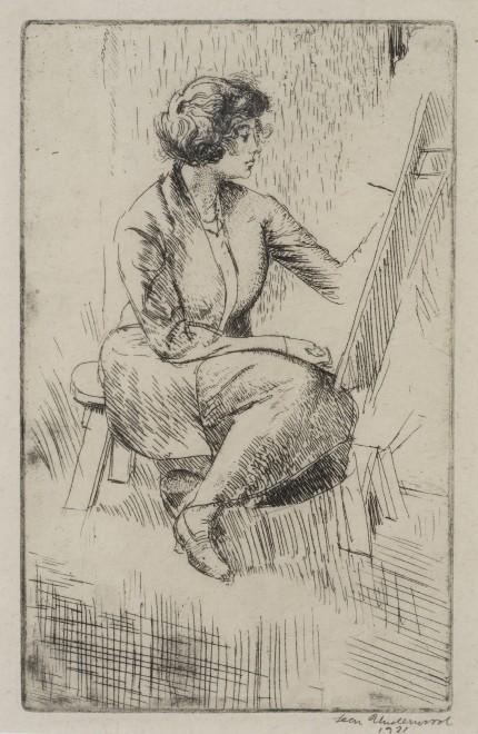 The Student (Eileen Agar)