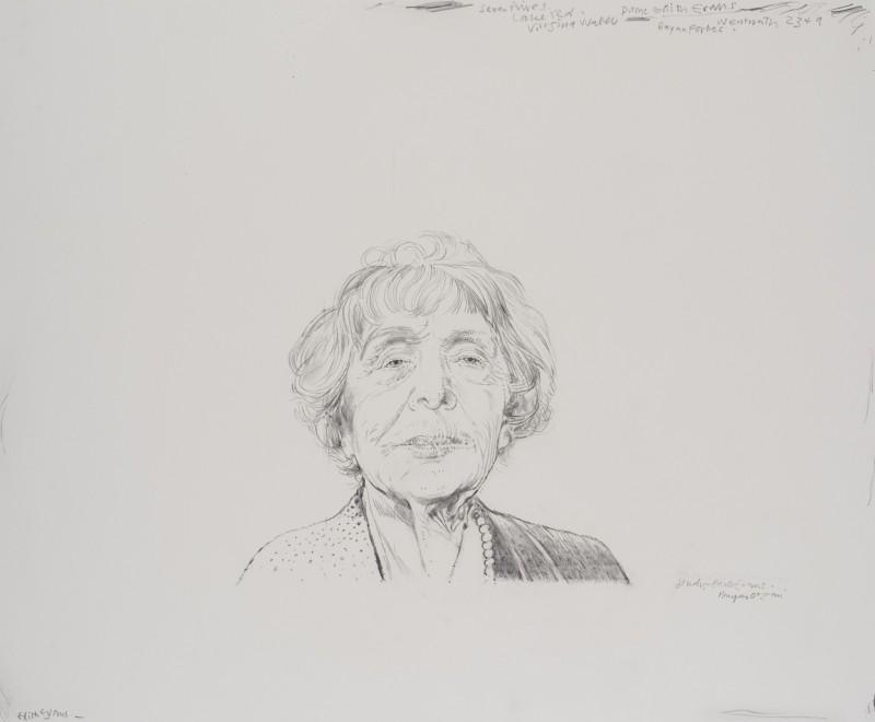 Study of Edith Evans