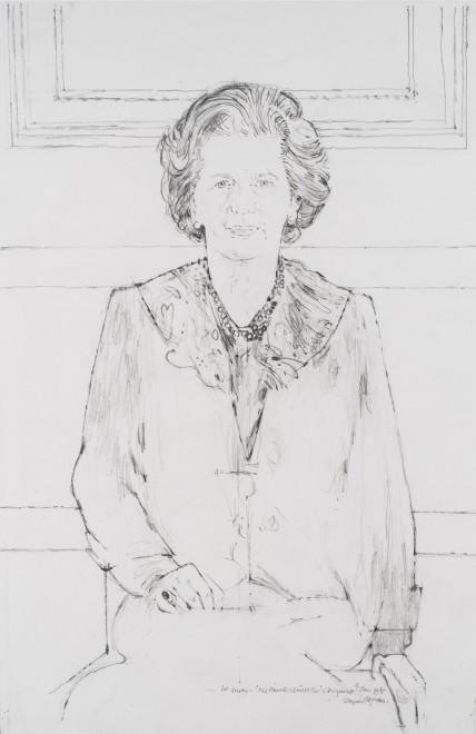 Margaret Thatcher, 1st Study