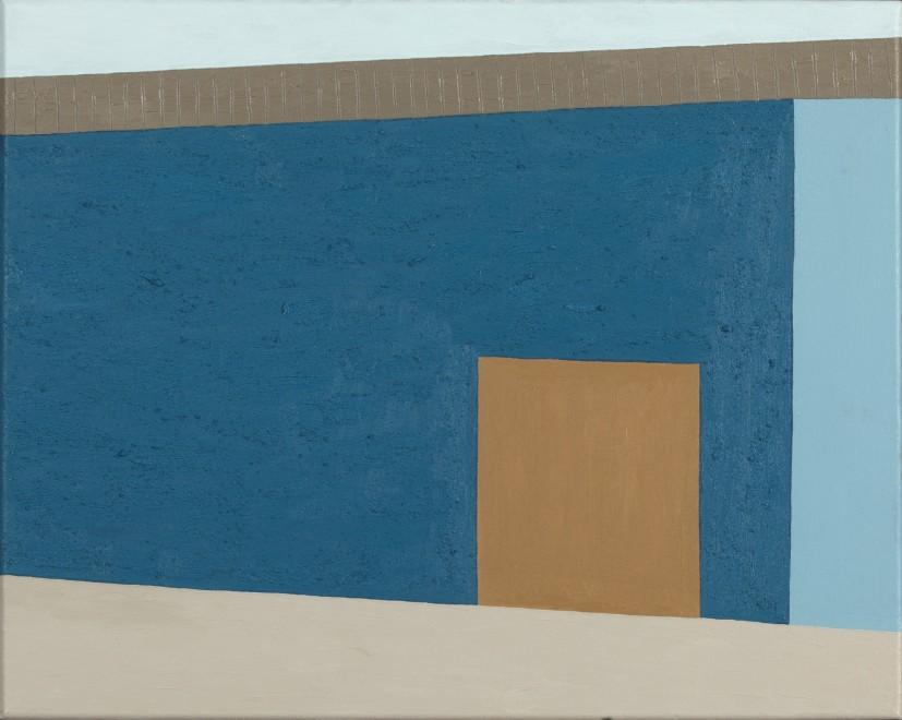 Blue Wall I