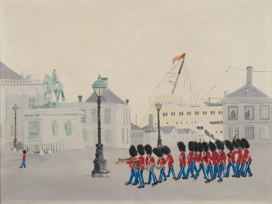 Guardsmen in Copenhagen