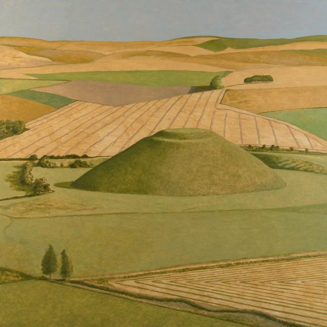 Silbury Hill from the Air