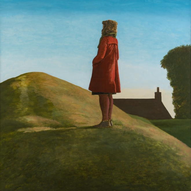 Woman and Earthwork