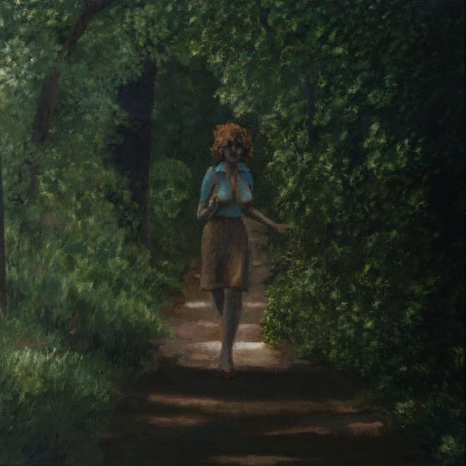 Woman, Running