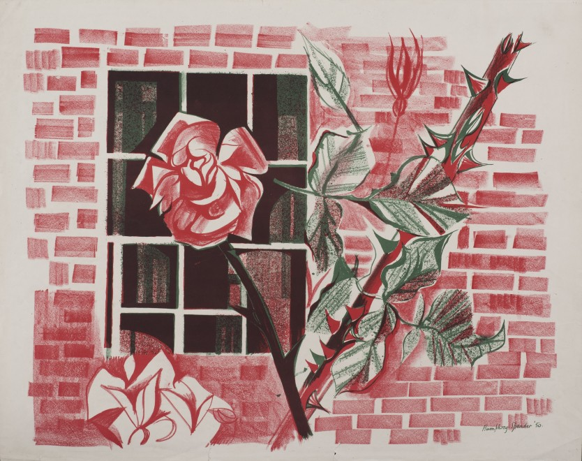 Rose at the Window