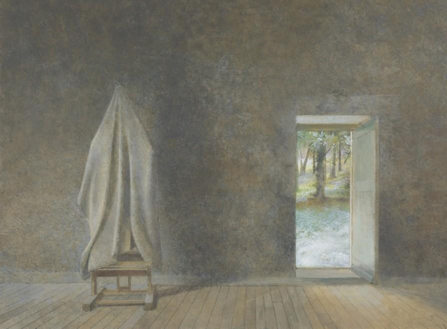 Top and Open Door