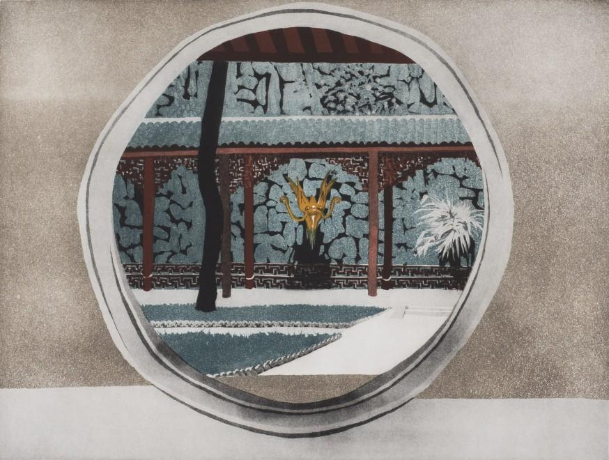 "<span class=""artist""><strong>Patrick Procktor</strong></span>, <span class=""title""><em>Yellow Dragon Cave, Hangchow</em>, 1980</span>"