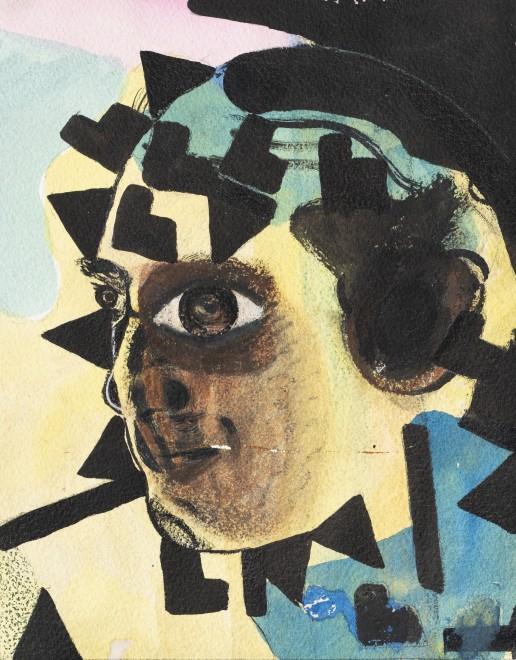 "<span class=""artist""><strong>Eileen Agar</strong></span>, <span class=""title""><em>Untitled (Head)</em>, 1970</span>"