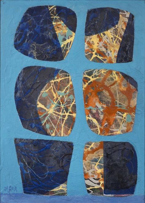 """<span class=""""artist""""><strong>Eileen Agar</strong></span>, <span class=""""title""""><em>Two Figures</em>, 1966</span>"""