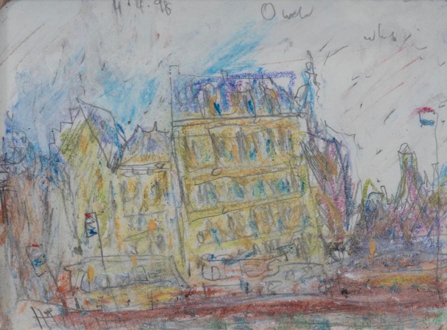 "<span class=""artist""><strong>Adrian Ryan</strong></span>, <span class=""title""><em>Paris, Left Bank</em>, 1998</span>"