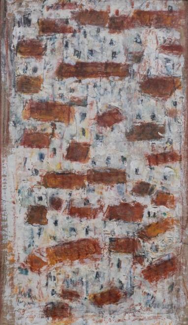 "<span class=""artist""><strong>Adrian Ryan</strong></span>, <span class=""title""><em>Mediterranean White Town</em>, 1990</span>"