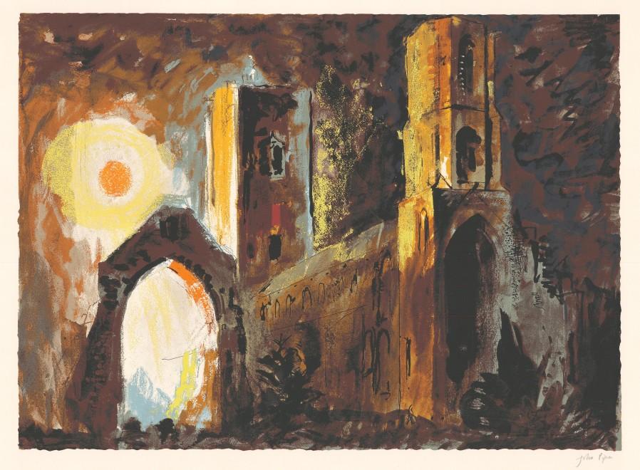 <span class=&#34;artist&#34;><strong>John Piper </strong></span>, <span class=&#34;title&#34;><em>Wymondham, Norfolk </em>, 1981</span>
