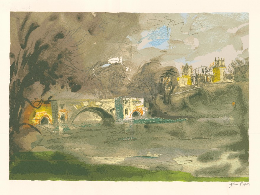 <span class=&#34;artist&#34;><strong>John Piper </strong></span>, <span class=&#34;title&#34;><em>Blenheim Bridge </em>, 1988</span>