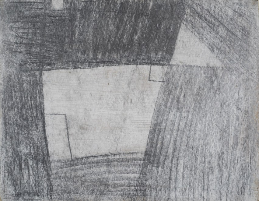 "<span class=""artist""><strong>Francis Davison</strong></span>, <span class=""title""><em>Cottage </em>, 1950-51</span>"