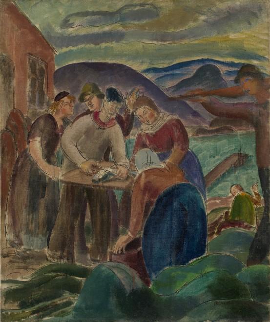 Icelandic Fishermen and Women
