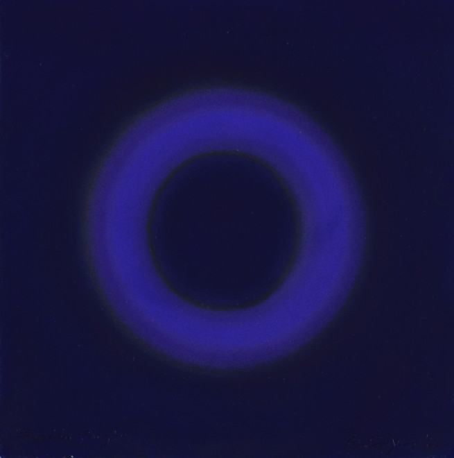<span class=&#34;artist&#34;><strong>Peter Sedgley</strong></span>, <span class=&#34;title&#34;><em>Prussian Ring</em>, 1966</span>