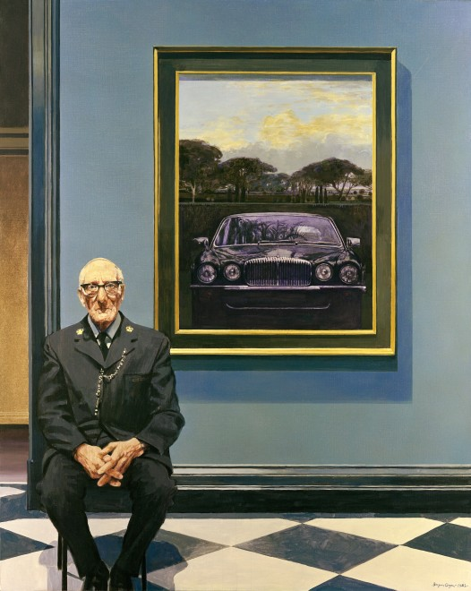 Daimler and Gallery Assistant (Masterpiece by Daimler)