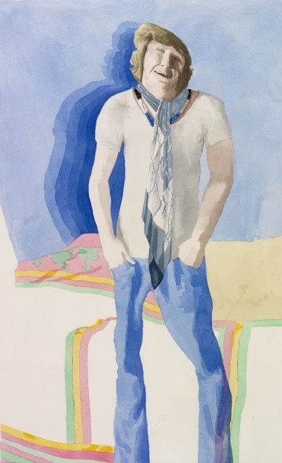 <p><span class=&#34;artist&#34;><strong>Patrick Procktor RA</strong></span>, <span class=&#34;title&#34;><em>Christopher Gibbs </em>, 1967</span></p>