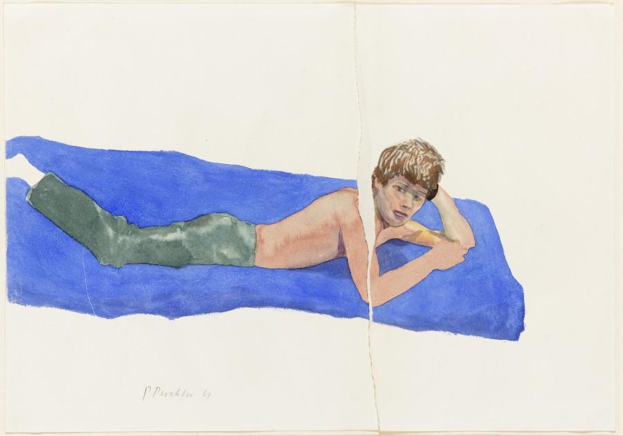 <p><span class=&#34;artist&#34;><strong>Patrick Procktor RA</strong></span>, <span class=&#34;title&#34;><em>Andrew McCall</em>, 1967</span></p>