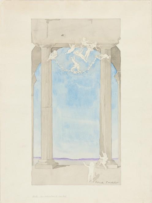 <p><span class=&#34;artist&#34;><strong>Patrick Procktor RA</strong></span>, <span class=&#34;title&#34;><em>Untitled (Mural Design)</em>, c.1977</span></p>