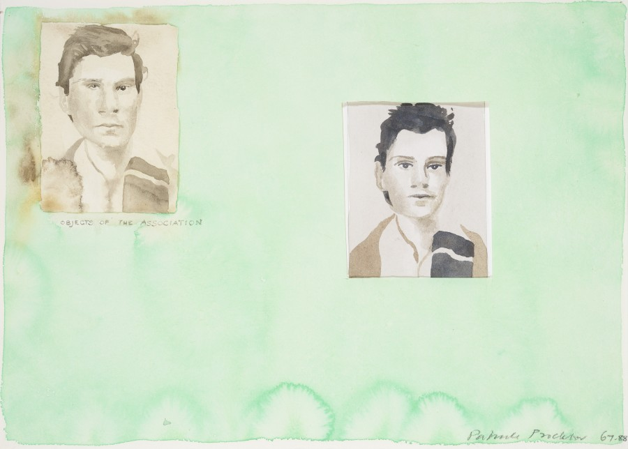 <span class=&#34;artist&#34;><strong>Patrick Procktor RA</strong></span>, <span class=&#34;title&#34;><em>Objects of the Association (Mario Dubsky)</em>, 1967-88</span>