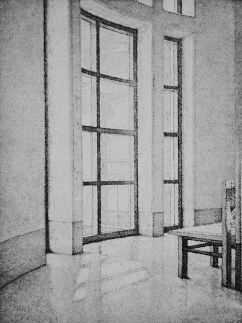 David Lintine ARE, Window Seat - The National Gallery