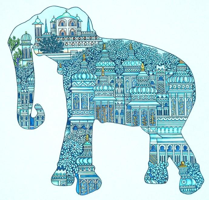 Meg Dutton RE, Elephant