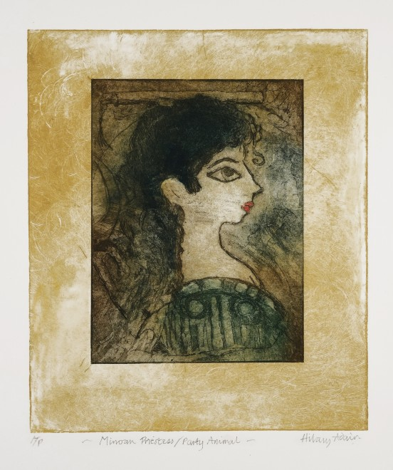 Hilary Adair RE, Minoan Priestess, Party Animal