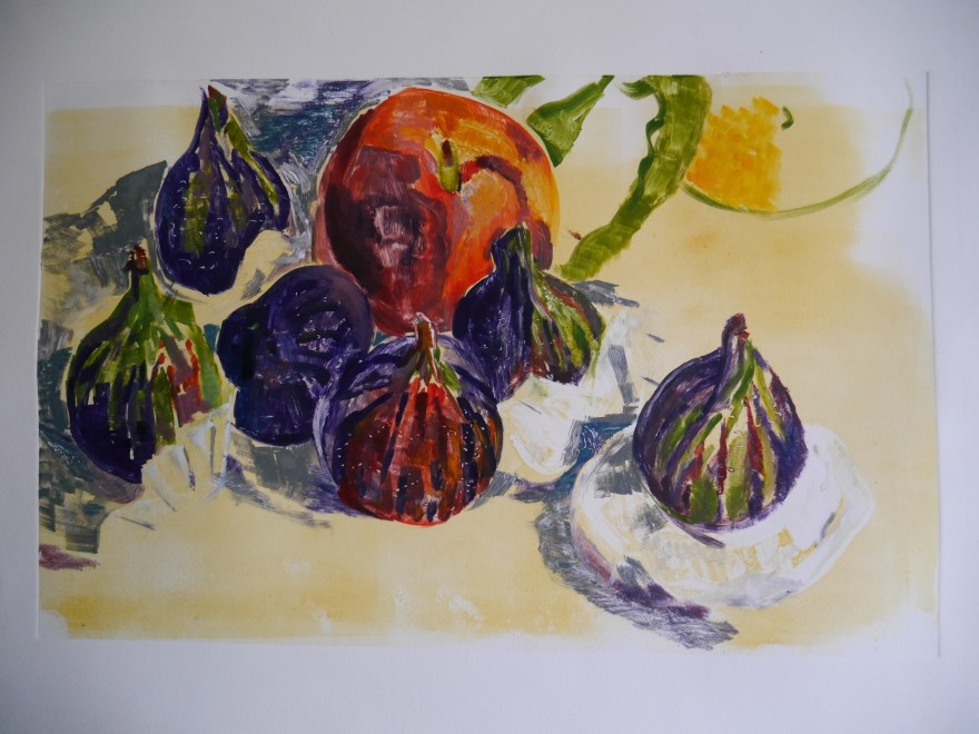 Hilary Daltry RE, Figs