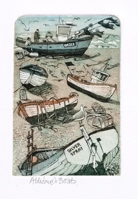 Glynn Thomas RE, Aldeburgh Boats