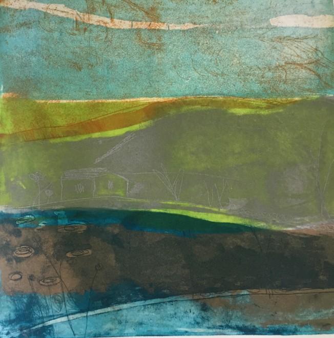 Louise Davies RE, Morning Mist