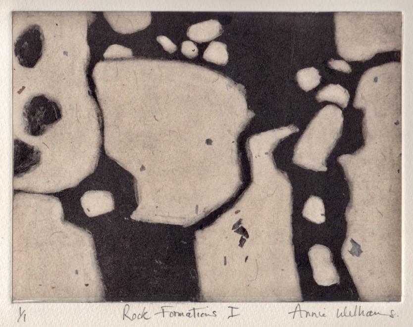 Annie Williams RWS RE, Rock Formations I