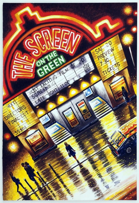 John Duffin RE, The Screen on the Green