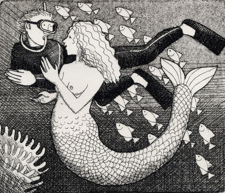 Frans Wesselman RE, Small Mermaid