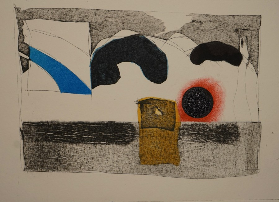 Robert Baggaley RE, Industrial Landscape 3
