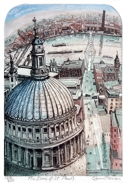 Glynn Thomas RE, The Dome of St Paul's